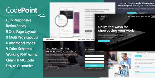CodePoint Preview Wordpress Theme - Rating, Reviews, Preview, Demo & Download