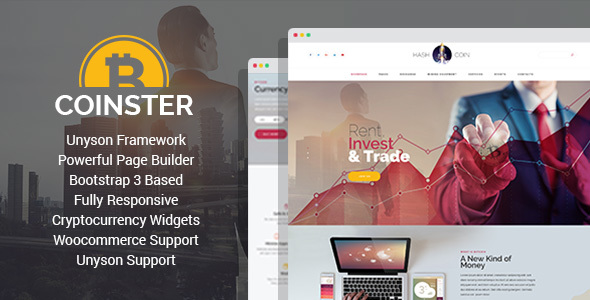 Coinster Preview Wordpress Theme - Rating, Reviews, Preview, Demo & Download