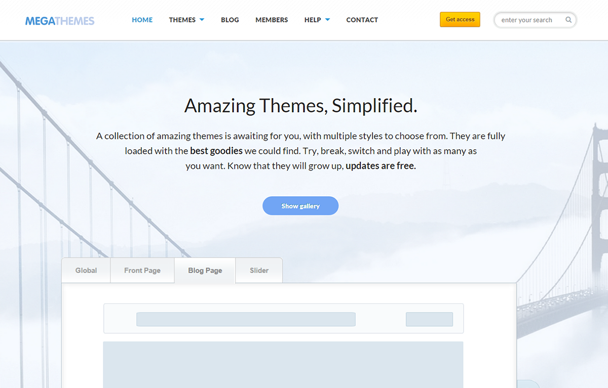 Color Preview Wordpress Theme - Rating, Reviews, Preview, Demo & Download