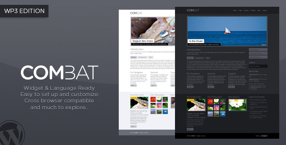 COMBAT Wordpress Preview Wordpress Theme - Rating, Reviews, Preview, Demo & Download