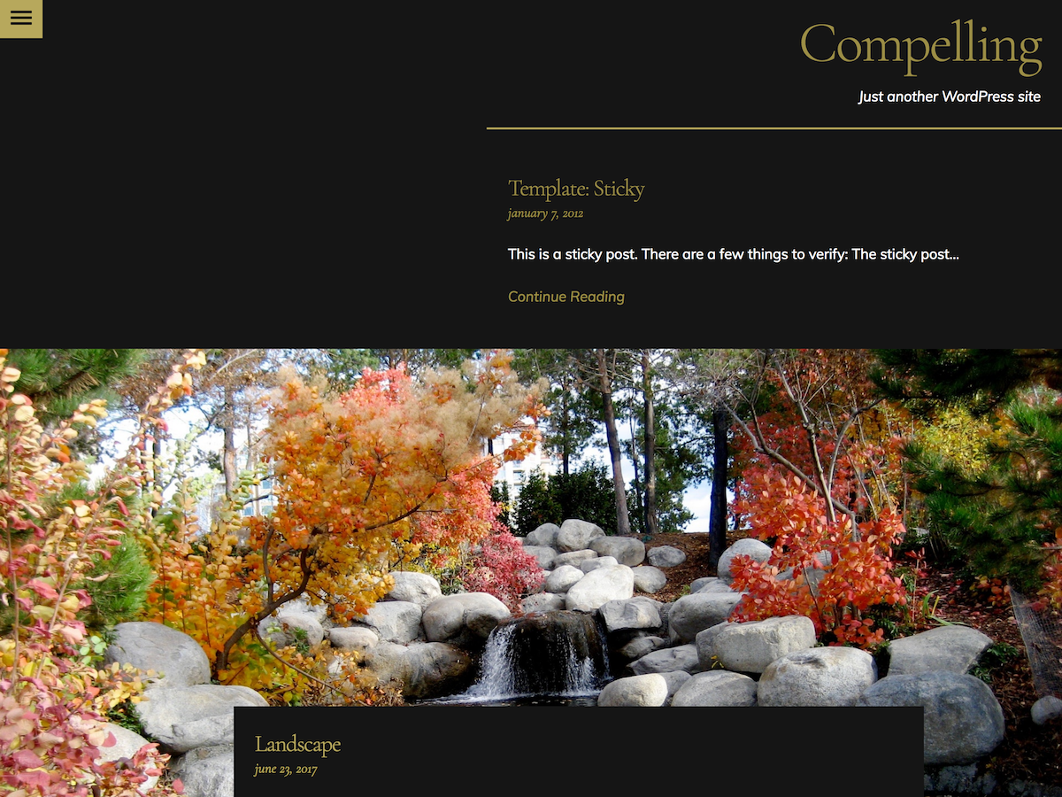 Compelling Preview Wordpress Theme - Rating, Reviews, Preview, Demo & Download