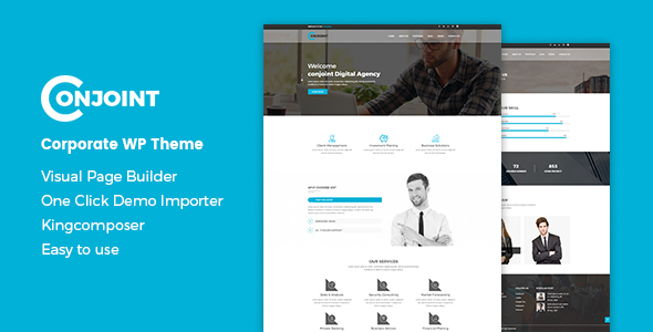Conjoint Preview Wordpress Theme - Rating, Reviews, Preview, Demo & Download