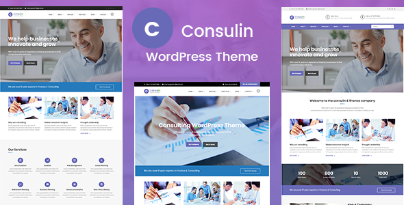 Consulin Preview Wordpress Theme - Rating, Reviews, Preview, Demo & Download
