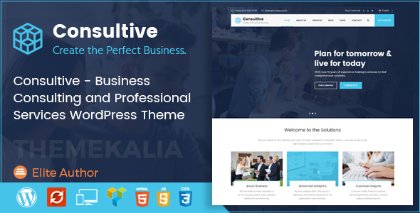 Consultive Preview Wordpress Theme - Rating, Reviews, Preview, Demo & Download