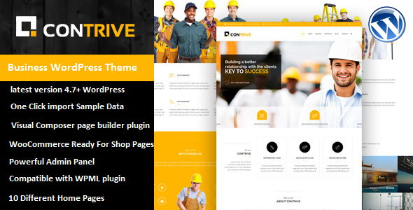Contrive Preview Wordpress Theme - Rating, Reviews, Preview, Demo & Download