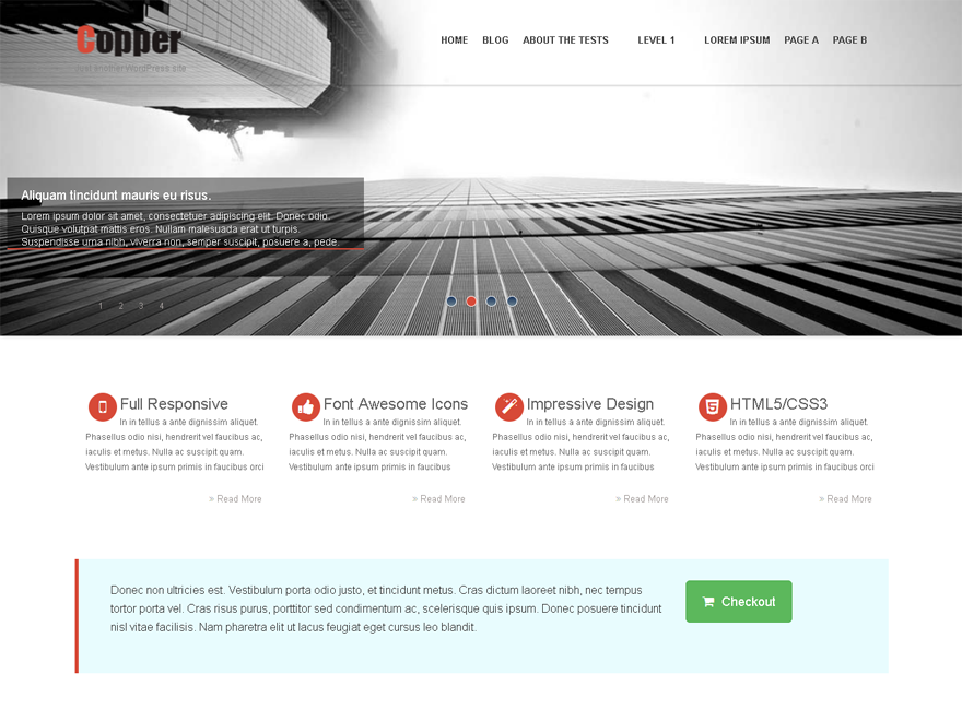 Copper Preview Wordpress Theme - Rating, Reviews, Preview, Demo & Download