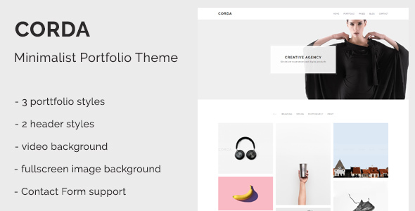 Corda Preview Wordpress Theme - Rating, Reviews, Preview, Demo & Download