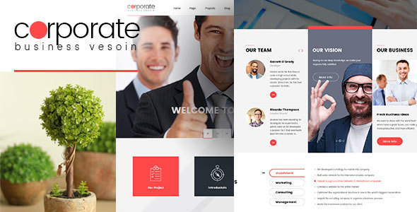 Corporate Preview Wordpress Theme - Rating, Reviews, Preview, Demo & Download