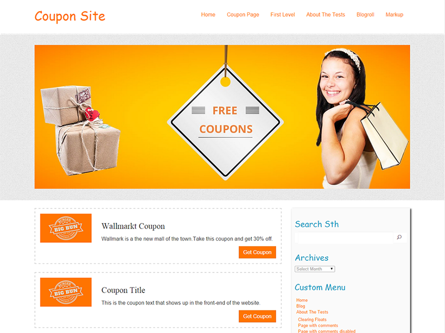 Coupon Preview Wordpress Theme - Rating, Reviews, Preview, Demo & Download