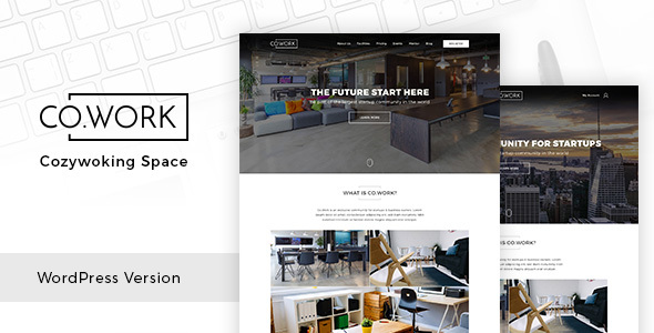 CoWork Preview Wordpress Theme - Rating, Reviews, Preview, Demo & Download