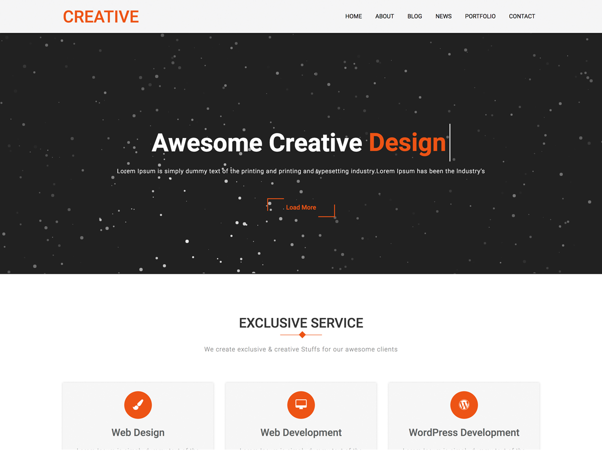 Creative Company Preview Wordpress Theme - Rating, Reviews, Preview, Demo & Download