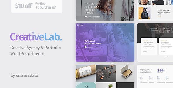 Creative Lab Preview Wordpress Theme - Rating, Reviews, Preview, Demo & Download
