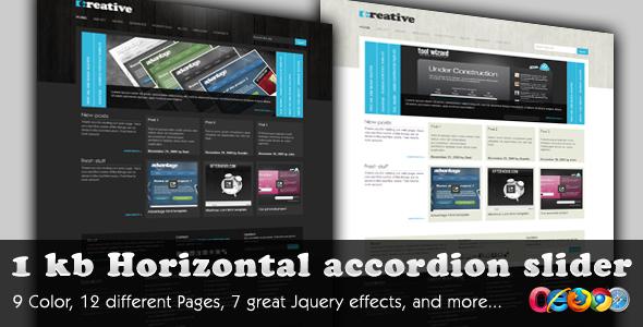 Creative WordPress Preview Wordpress Theme - Rating, Reviews, Preview, Demo & Download