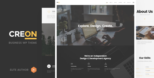 Creon Preview Wordpress Theme - Rating, Reviews, Preview, Demo & Download