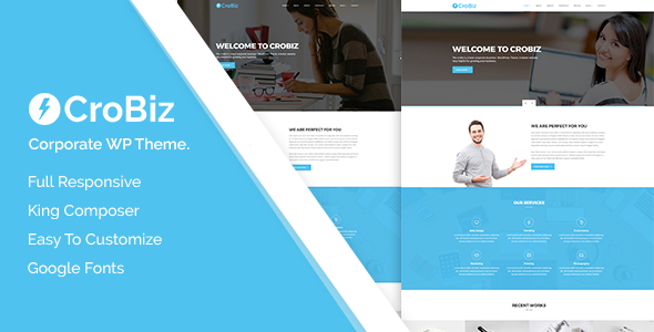 Crobiz Preview Wordpress Theme - Rating, Reviews, Preview, Demo & Download