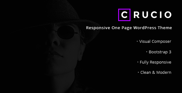 Crucio Preview Wordpress Theme - Rating, Reviews, Preview, Demo & Download