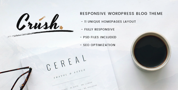 Crush Preview Wordpress Theme - Rating, Reviews, Preview, Demo & Download