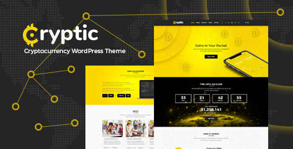 Cryptic Preview Wordpress Theme - Rating, Reviews, Preview, Demo & Download