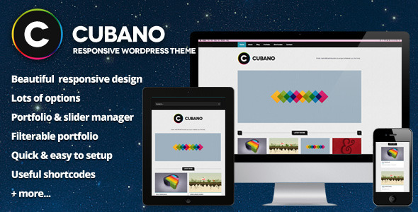 Cubano Preview Wordpress Theme - Rating, Reviews, Preview, Demo & Download