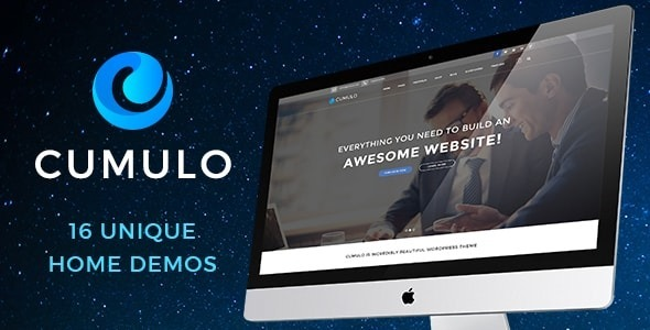 Cumulo Preview Wordpress Theme - Rating, Reviews, Preview, Demo & Download