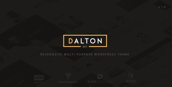 Dalton Preview Wordpress Theme - Rating, Reviews, Preview, Demo & Download