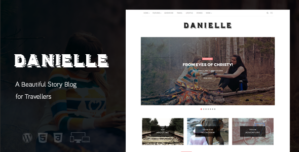 Danielle Preview Wordpress Theme - Rating, Reviews, Preview, Demo & Download