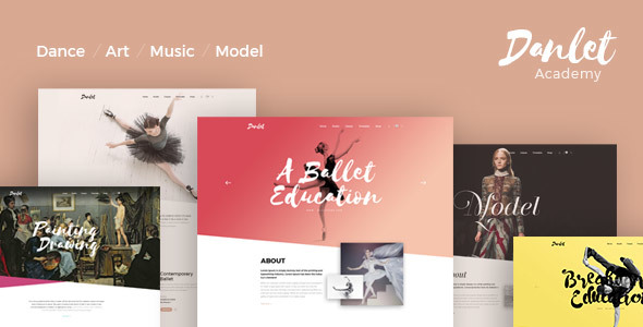Danlet Academy Preview Wordpress Theme - Rating, Reviews, Preview, Demo & Download