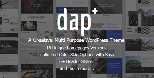 Dap Preview Wordpress Theme - Rating, Reviews, Preview, Demo & Download