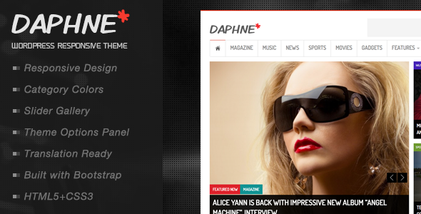 Daphne Preview Wordpress Theme - Rating, Reviews, Preview, Demo & Download