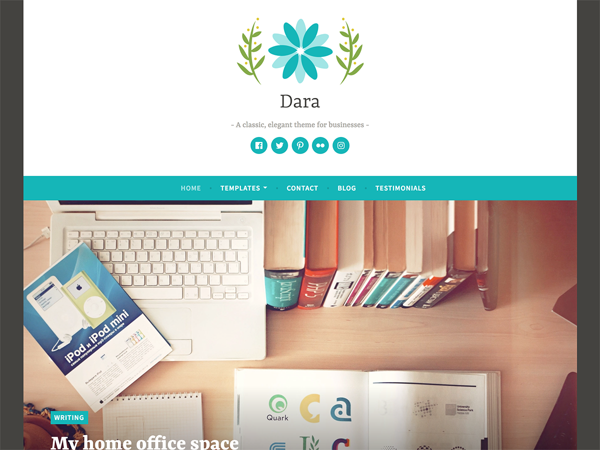 Dara Preview Wordpress Theme - Rating, Reviews, Preview, Demo & Download