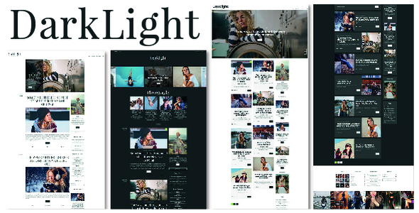 Darklight Preview Wordpress Theme - Rating, Reviews, Preview, Demo & Download