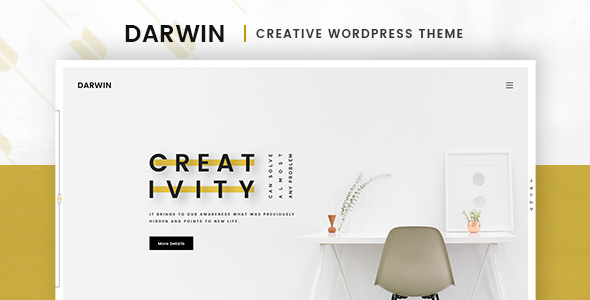 Darwin Preview Wordpress Theme - Rating, Reviews, Preview, Demo & Download