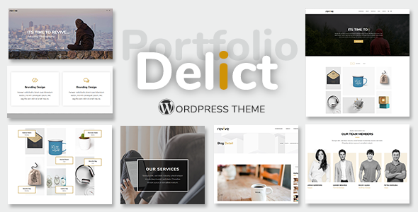 Delict Preview Wordpress Theme - Rating, Reviews, Preview, Demo & Download