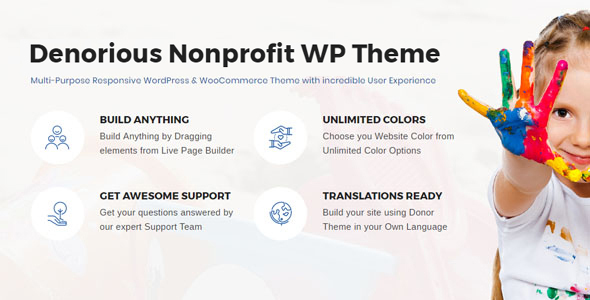 Denorious Preview Wordpress Theme - Rating, Reviews, Preview, Demo & Download