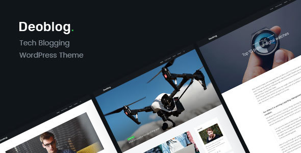 Deoblog Preview Wordpress Theme - Rating, Reviews, Preview, Demo & Download