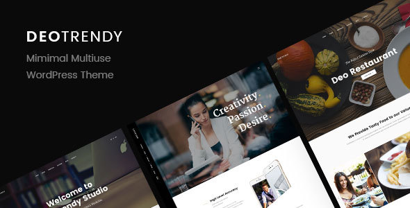 DeoTrendy Preview Wordpress Theme - Rating, Reviews, Preview, Demo & Download