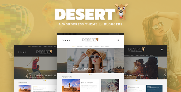 Desert Preview Wordpress Theme - Rating, Reviews, Preview, Demo & Download