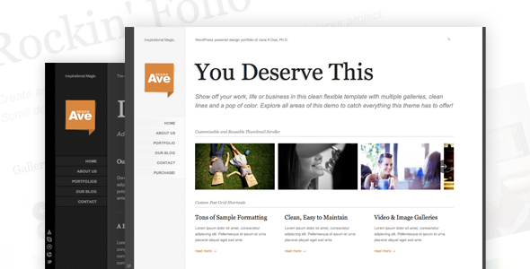 Design Avenue Preview Wordpress Theme - Rating, Reviews, Preview, Demo & Download