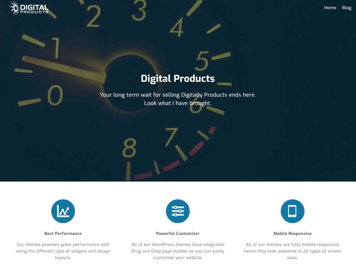 Digital Products Preview Wordpress Theme - Rating, Reviews, Preview, Demo & Download