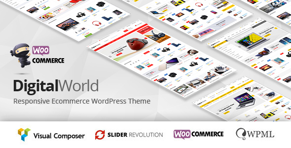 Digitalworld Preview Wordpress Theme - Rating, Reviews, Preview, Demo & Download