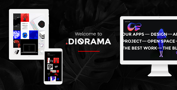Diorama Preview Wordpress Theme - Rating, Reviews, Preview, Demo & Download