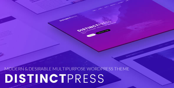 DistinctPress Pro Preview Wordpress Theme - Rating, Reviews, Preview, Demo & Download