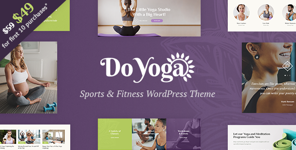 Do Yoga Preview Wordpress Theme - Rating, Reviews, Preview, Demo & Download
