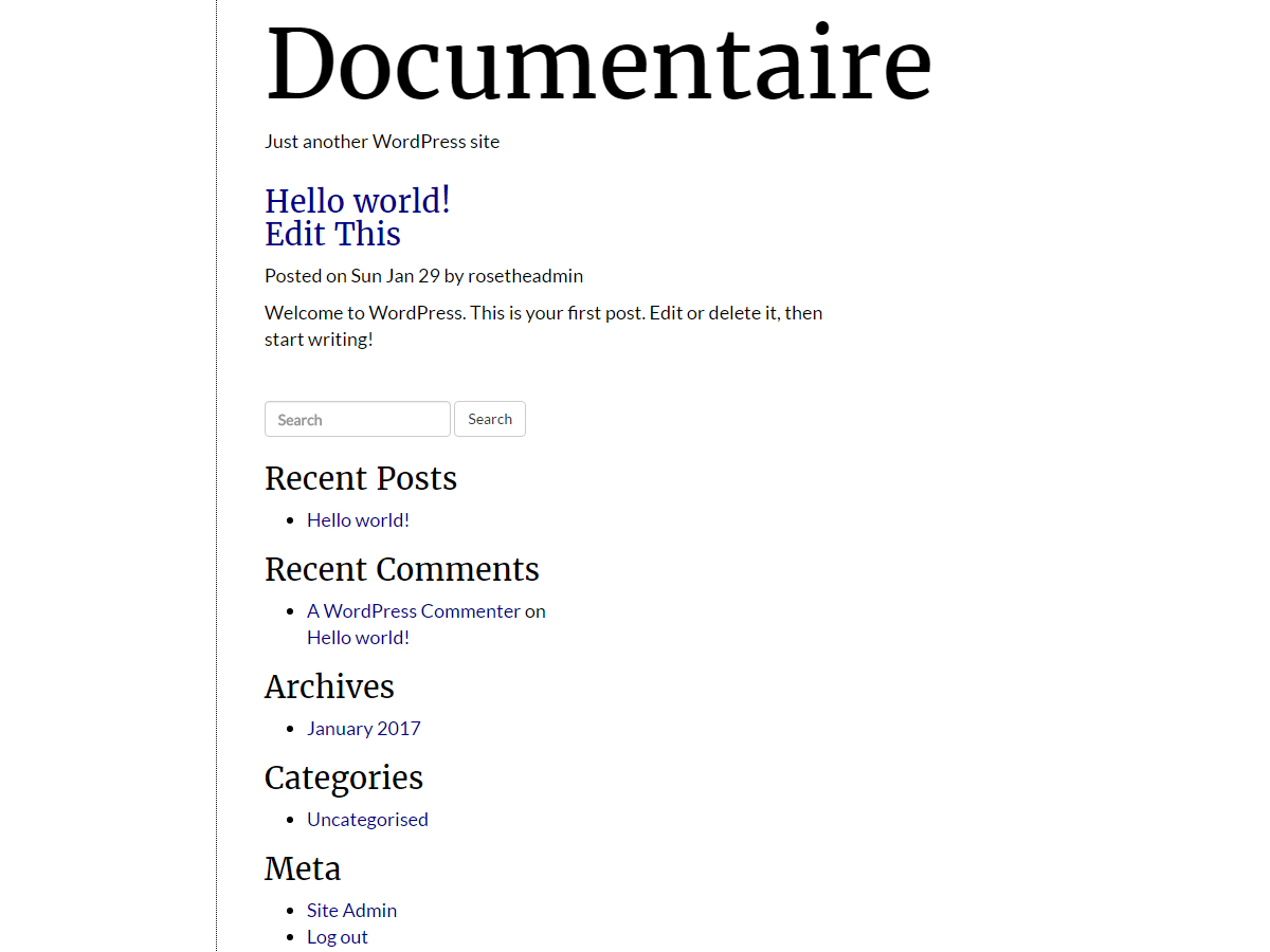 Documentaire Preview Wordpress Theme - Rating, Reviews, Preview, Demo & Download