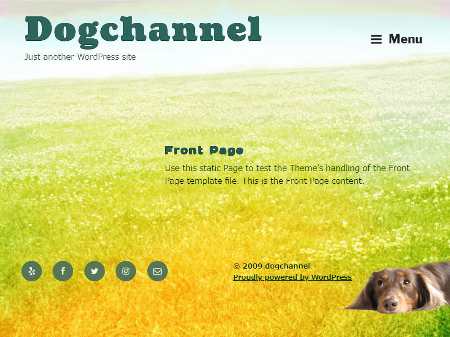 Dog Channel Preview Wordpress Theme - Rating, Reviews, Preview, Demo & Download