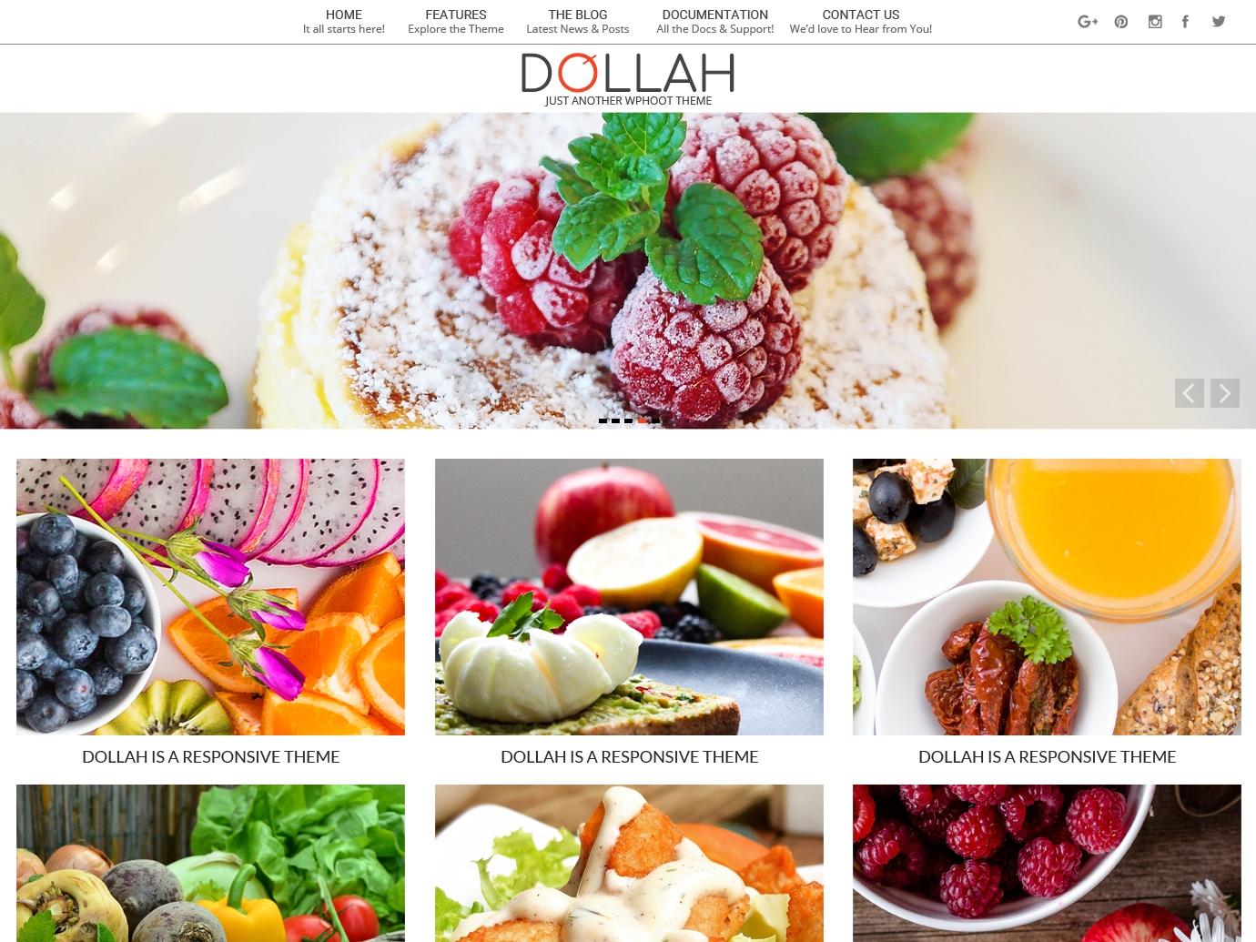 Dollah Preview Wordpress Theme - Rating, Reviews, Preview, Demo & Download