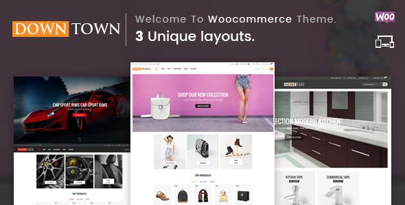 Down Town Preview Wordpress Theme - Rating, Reviews, Preview, Demo & Download