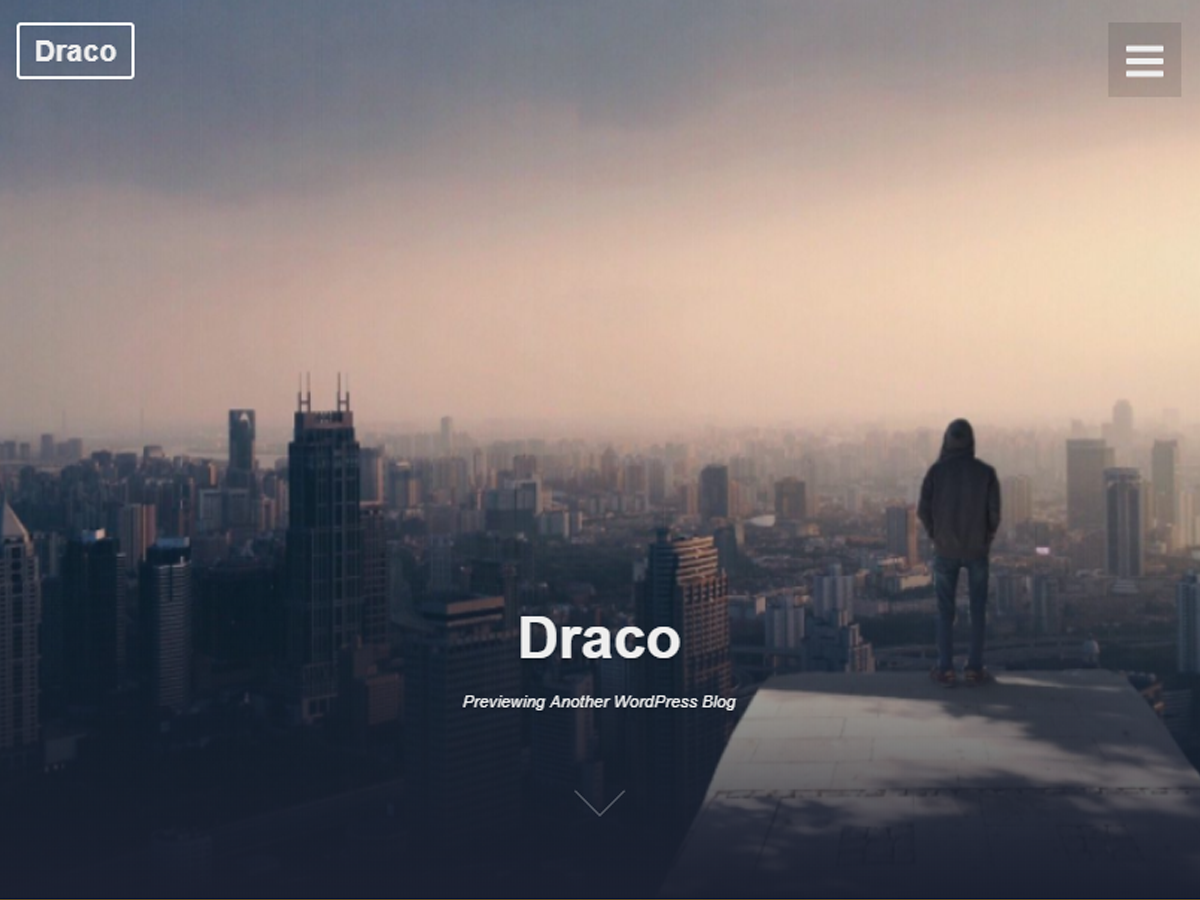 Draco Preview Wordpress Theme - Rating, Reviews, Preview, Demo & Download
