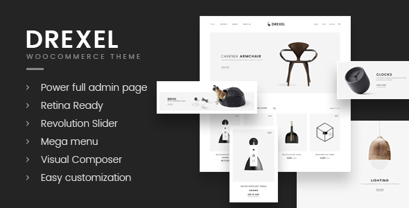 Drexel Preview Wordpress Theme - Rating, Reviews, Preview, Demo & Download