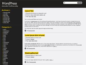 Drochilli Preview Wordpress Theme - Rating, Reviews, Preview, Demo & Download